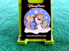 Disney * FROZEN - ELSA ANNA OLAF - BUILD A SNOWMAN * New on Card Trading Pin