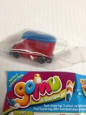 GOMU Series 1 Eraserland Red Gel BUS g760 School Eraser Super Rare