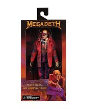 """MEGADETH 8"""" CLOTHED FIGURE 'PEACE SELLS ... BUT WHO'S BUYING ?"""" (NECA) - PRESALE"""