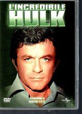 DVD N569 L'INCREDIBILE HULK STAGIONE 1  4 DVD