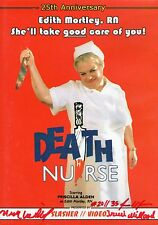 Death Nurse DVD SIGNED Nick Millard Priscilla Alden Low Budget Shot On Video
