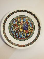 Darceau - Limoges Noel Vitrail - Stained Glass Christmas Plate #7-Guided by Star