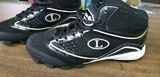 Louisville Slugger High Top Baseball Cleats Mens 7 Fusion XP PVS 360 Black White