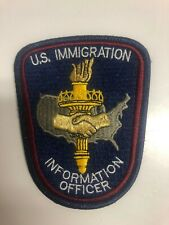 U.S. Immigration Police Patch - United States