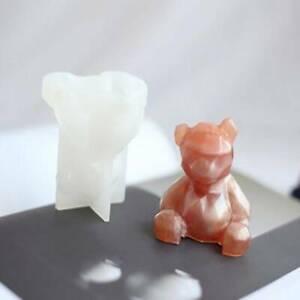 3D Bear Fondant Cake Sugarcraft Decorating Mould Chocolate Baking Mold JA