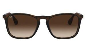 Ray Ban Chris Unisex Sunglasses RB4187 856/13 Rubber Havana