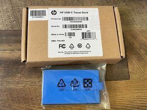 HP USB Travel Dock T0K29AA#ABA, BRAND NEW