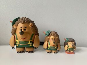 Toy Story 3 Collection - Mr Prickle Pants 3 different toys! Disney/Pixar