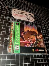 "NEW PS1 DOOM ""CUSTOM PLAYSTATION EDITION"" SEALED EXCELLENT GIFT MINOR WEAR ONLY"