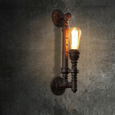 Rustic Industrial Steampunk Water Pipe Wall Light Barn Wall Lamp Sconce Fixture