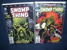 Swamp Thing Annual #1 and #2 Nm with Bag and Board Dc Comics New 52