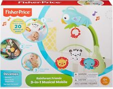 Fisher-Price Rainforest 3-in-1 Musical Mobile - Brand New in Box