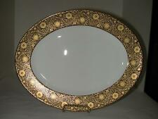 "L by Lenox Floral Magesty 13"" Oval Platter New; No Box"