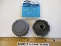 """2 PCS IN 1 FORD BAG 1989 PROBE """"DIAL"""" (FRONT SEAT TILT) COLOR SMOKE VERY RARE"""