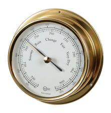 Schiffsarometer BARIGO Regatta Brass 120mm
