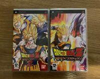 LOT DE DRAGON BALL Z SHIN BUDOKAI 1 ET 2 JEUX PSP