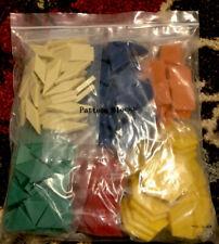 Pattern Blocks Set of 250 - Blue/Red/Green/Purple/Yel low Orange