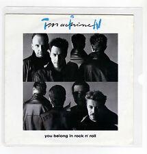 "TIN MACHINE bowie 7 ""  Maxi YOU BELONG IN ROCK N ROLL 2 tracks 1991  /16"