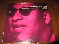 Sonny Rollins Record lp SEALED A Night at the Village Vanguard Blue Note re-isse