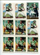 Dexter Carter 9 card lot Florida St. Seminoles / New York Jets