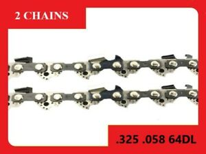 Chainsaw Chain Suit For Fit Shindaiwa 451s 38cm Bar (2 x Chains)
