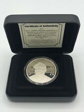 1997 MLB EnviroMint Larry Doby Silver Coin 1 Troy oz .999 Silver Mint NIB