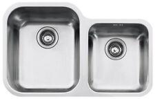 Franke Lavello 69x42 Sottotop 2 Vasche Satinato ZOX120 - 5290660 - 122.0021.451