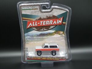 2020 GREENLIGHT 1984 GMC JIMMY SIERRA CLASSIC K5 ALL TERRAIN SERIES 10 1:64