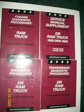 Original 2003 Dodge Ram Truck 2 & 4 Wd 1500 2500 3500 Lot of 4 Manuals