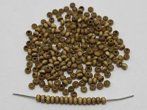 1000 Light Coffee 4mm Round Wood Beads~Wooden Mini Spacer Beads