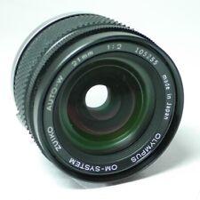 Olympus Zuiko Auto-W OM 1:2 21mm F2 Objektiv An-Verkauf!  ff-shop24