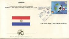 OFFICIEL FIRST DAY COVER FOOTBALL ESPAGNE WORLD CUP COUPE DU MONDE FOOTBALL 1982