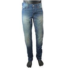 HUGO BOSS Herren-Jeans mit mittlerer Bundhöhe und regular Länge