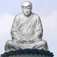 Buddha Statue Of Trump Donald Trump Make Your Business Great Again Ornament Sale