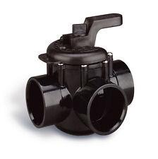 """Pentair 263028 Swimming Pool 3-Way Plumbing PVC No Lube Diverter Valve 2"""" x 2.5"""""""