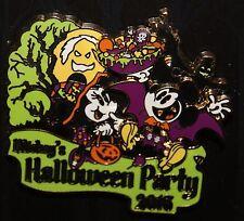 DISNEY 2016 LOGO Mickeys Halloween Party LR Pin MICKEY MINNIE CANDY CORN