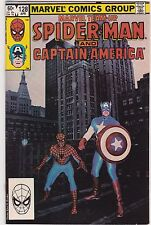 Marvel Team-Up #128   1983   Spider-man Captain. America Photo Cvr