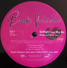 Brooke Valentine Feat. Big Boi ‎– Girlfight ~Clean~Explict~Inst.~Acap ~Fast Ship!