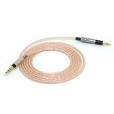 For Momentum 2.0 Cord 3.5mm Male to 2.5mm Male Silvering Headphone Upgrade Cable