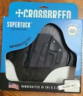 Crossbreed Supertuck IWB Right Hand Holster Kydex Shell for a Glock 19/17