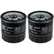 2x MAHLE / KNECHT Ölfilter OC 21 Oil Filter