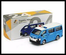 TINY HONG KONG CITY 24 Toyota Hiace Van Macau Police NEW DIECAST CAR