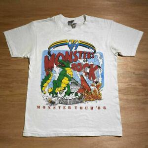 Vintage Van Halen Monsters of Rock 1988 Tour T-shirt