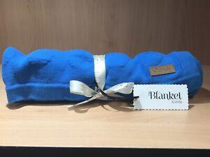 iCandy Blue Pram Blanket. BNIB