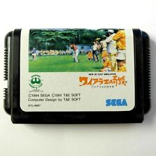 Rare: New 3D Golf Simulation Waialae no Kiseki JAP Megadrive/Game for Mega Drive