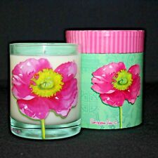 Christopher Vine Design Pink Poppy Soy Wax Decorative Collectible Jar Candle