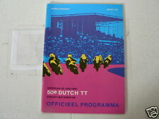1980 DUTCH TT ASSEN MOTORRENNEN PROGRAMME. GRANDPRIX  HISTORY PICTURES 50 YEARS