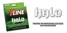 P-LINE HALO 100% Fluorocarbon Co-Fluoride Line 15lb (200yd) #HF200-15 Mist Green
