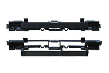 2 Black Roof Luggage Rail Trim Moulding Cover for Vauxhall Opel Astra H Zafira B