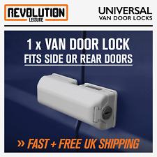 Universal Van Door Dead Lock Single Fits Rear & Sliding Side Doors Van Security